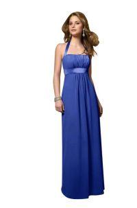 Chiffon Cobalt Blue Bridesmaid Dresses TET124 | Wedding ...