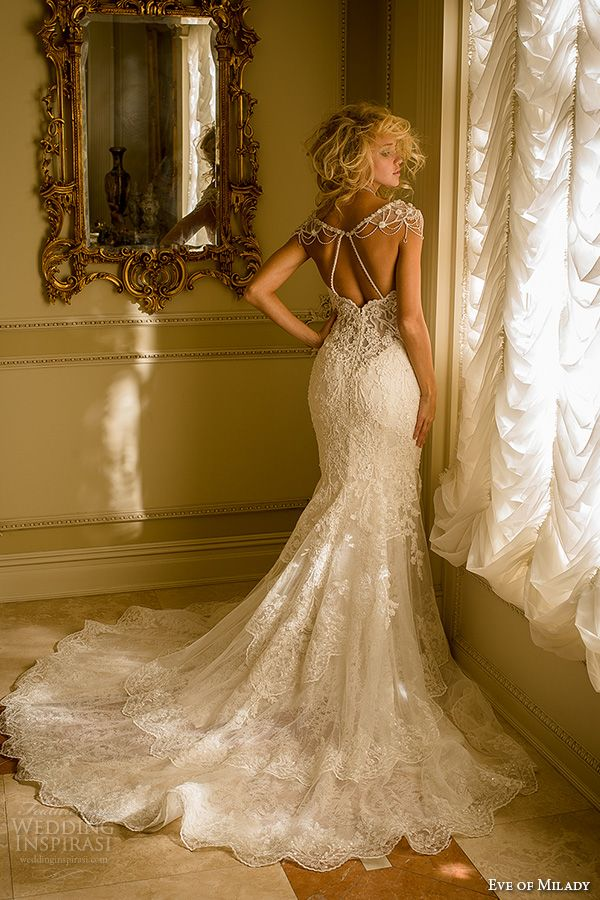 25 best ideas about Mermaid wedding dresses on Pinterest  Mermaid wedding gowns Lace mermaid