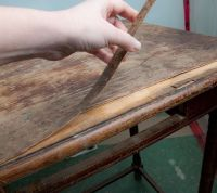 How to remove old veneer from furniture and refinish ...