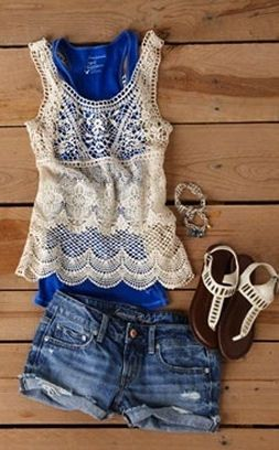Cute Summer Outfit // Denim