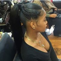 17+ best ideas about Black Ponytail Hairstyles on ...
