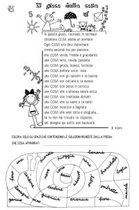 Italian Worksheets For Primary School