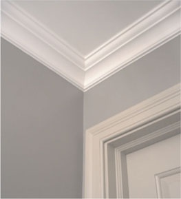 Way To Create Nice Molding For 8 Ft Ceilings Bedroom