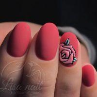 Best 25+ Rose nail art ideas on Pinterest   Rose nail ...