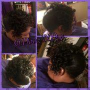 hairstyles black women curls