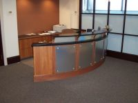 Custom Made Accounting Reception Desk by Mica Shop ...