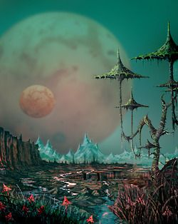 25 1970s Science Fiction Landscape Pictures And Ideas On Pro Landscape