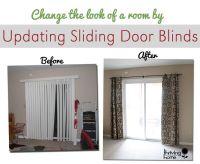 Top 25+ best Sliding door window treatments ideas on ...