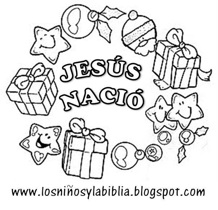 Gallery For > Dibujos Para Colorear De Navidad Cristianos