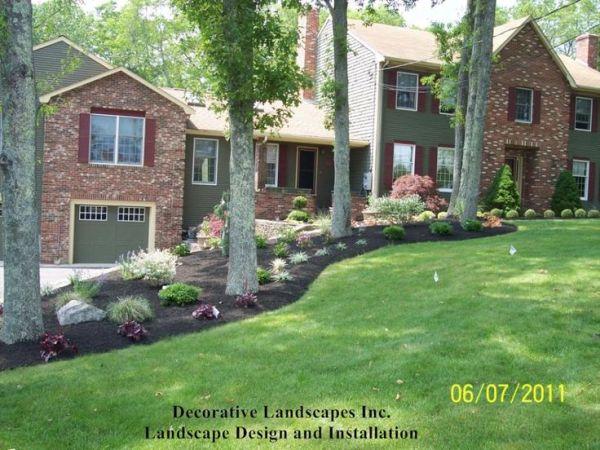 1000 front yard landscape