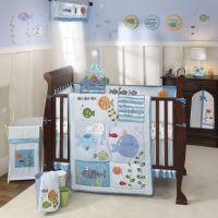 ocean theme nursery ideas: Under the Sea Baby Crib Bedding ...
