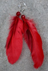 1000+ images about feather earrings on Pinterest ...