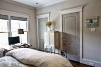 Walls Agreeable Gray.. Doors Pussywillow.. Trim Eider ...