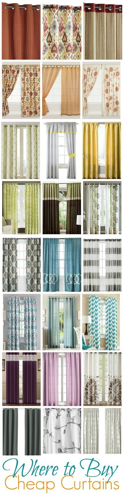 25 Best Ideas About Where To Buy Curtains On Pinterest