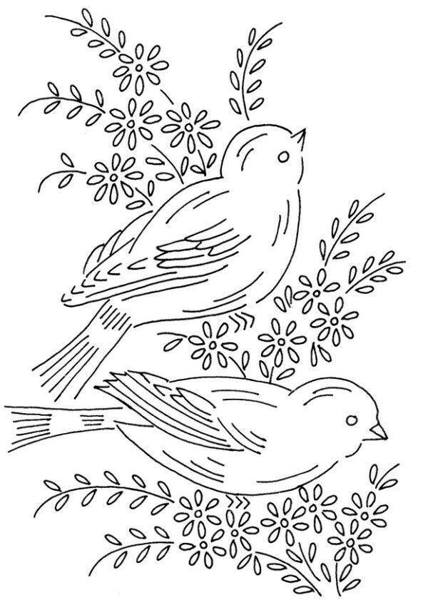 1000 Images About Hand Embroidery Templates
