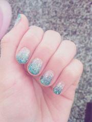 ideas sky blue nails