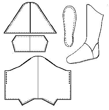 359 best Medieval / SCA Clothing Patterns & Tutorials