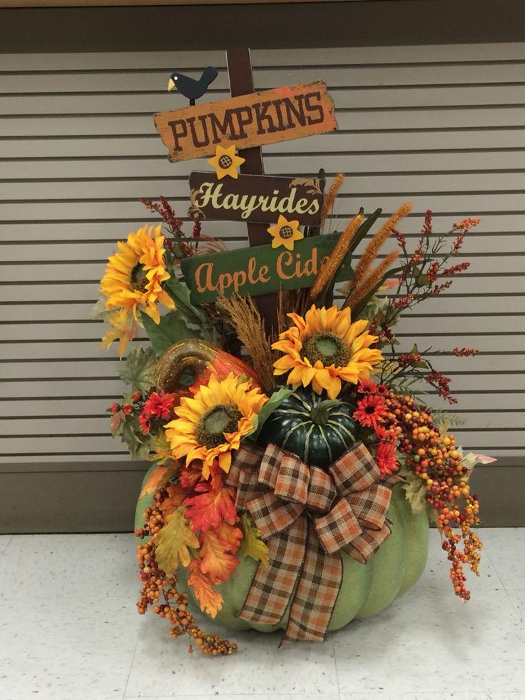 Best 25 Pumpkin arrangements ideas on Pinterest  Pumpkin