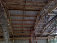 Pole barn insulation and inside finishing - The Garage ...