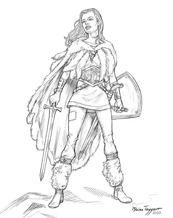 Spartan Warrior Coloring Pages Angel Pictures To Color