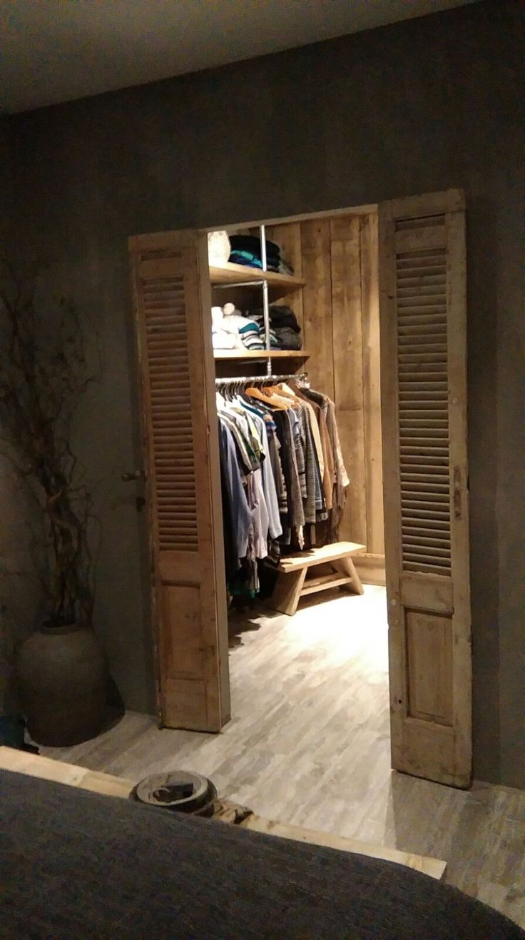 Best 25 Rustic closet ideas only on Pinterest  Rustic