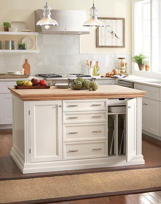 Martha Stewart Living Addison Baking Island Kitchen