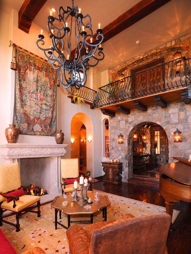 Spanish Style Decorating Ideas Gardens Loft And Balconies