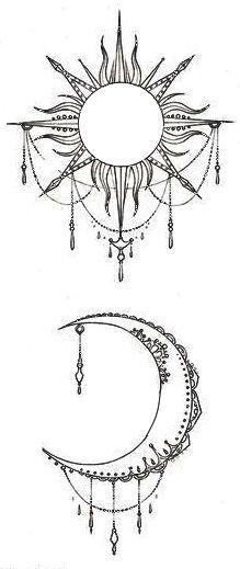 Best 20+ Sun moon tattoos ideas on Pinterest