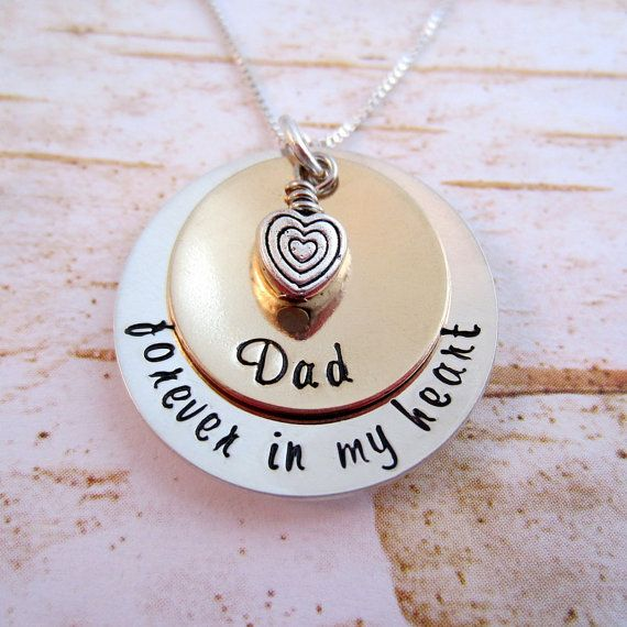 Loss Of Daddy Sympathy Gift Sterling Silver Memorial