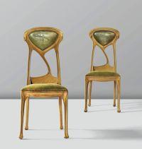 Art Nouveau chairs by Hector Guimard , 1900 | Art Nouveau ...