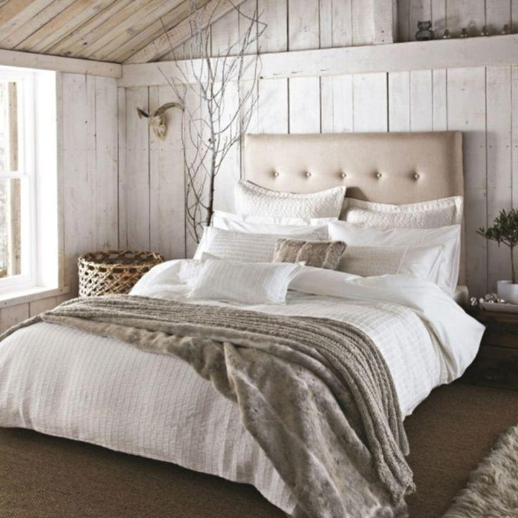 slaapkamer interieur ideeen landelijk - boisholz, Deco ideeën