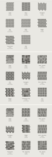 The 25+ best Brick patterns ideas on Pinterest | Paver ...