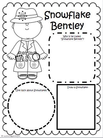 Practically Speeching: Snowflake Bentley Comprehension