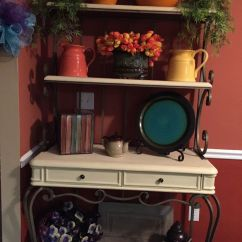 Redo My Kitchen Home Depot Islands Bakers Rack After Annie Sloan Chalk Paint. | Personal ...