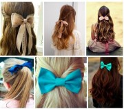 hairstyles with bows favorite