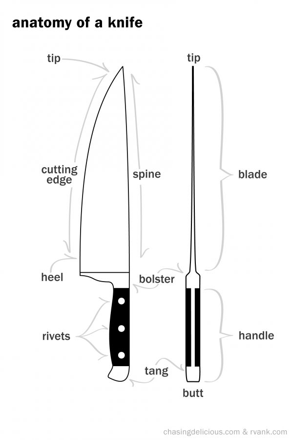 17+ best images about FACS Knife skills on Pinterest
