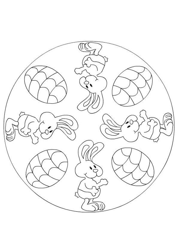 10 best images about Disegni di Mandala da Colorare on
