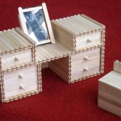 Diy Adirondack Chair Kit 1940 Wooden High 17 Best Images About Popsicle Sticks Crafts On Pinterest | Popsicles, Craft And ...