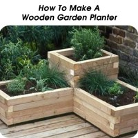 How To Make Wooden Garden Planters - WoodWorking Projects ...