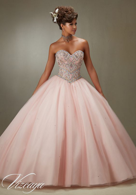 10 Beauty and the Beast Inspired Quinceanera Dresses