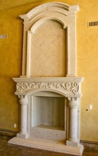 Cantera fireplace | Fireplaces | Pinterest | The o'jays ...