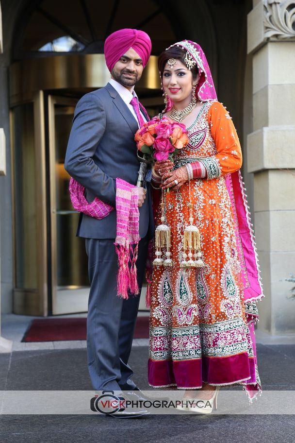 Punjabi wedding couple portrait  wedding photography in calgary  Pinterest  Wedding Indian