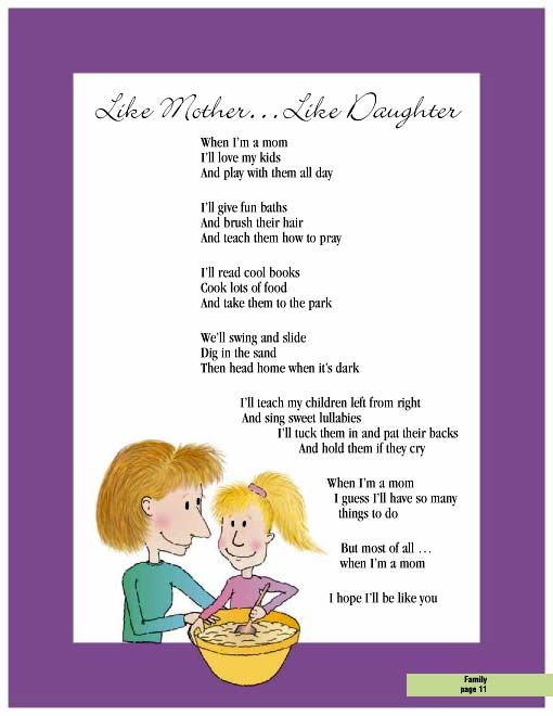 Mother and daughter poem  single mother quotes