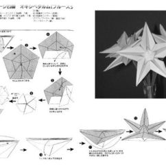Christmas Origami Flower Diagram 5 Pin Relay Connection 347 Best Images About Star On Pinterest | Paper Lanterns, And ...