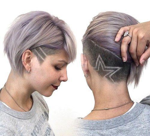 25 Best Ideas About Undercut Short Hair On Pinterest Short Hair