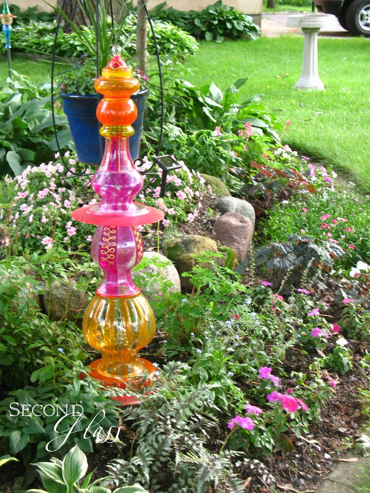 25 Best Ideas About Glass Garden On Pinterest Yard Globe Glass