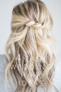 1000+ ideas about Easy Wedding Hairstyles on Pinterest ...