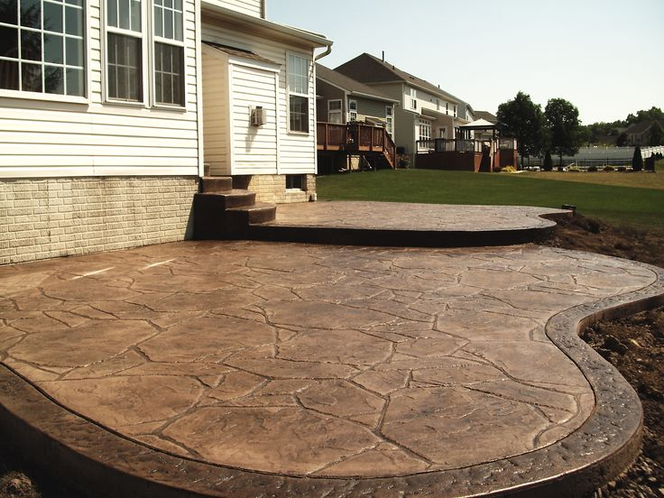 Best 25 Stamped concrete patios ideas on Pinterest