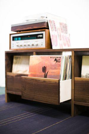17 Best ideas about Record Storage on Pinterest  Vinyl