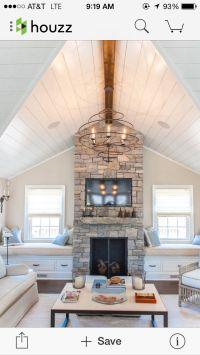 25+ best Fireplace Windows ideas on Pinterest   Living ...